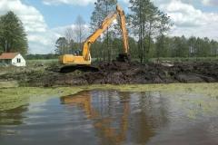 Czyszczenie zbiornika wodnego