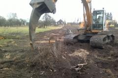 Oczyszczanie terenu